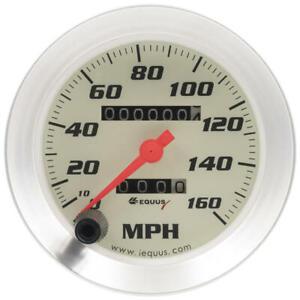 "Equus Speedometer Gauge 8076; 8000 Series 0-160 MPH 3-3/8"" Full Sweep Mechanical"