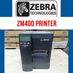 Zebra ZM400 Direct Transfer Label Barcode Printer Parallel Serial USB AU stock