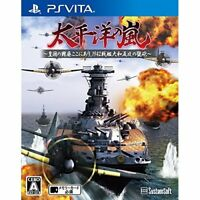 Used PS Vita Pacific Ocean there of the storm battleship Yamato Import Japan