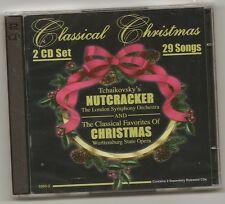 "CLASSICAL CHRISTMAS, 2 CD SET ""TCHAIKOVSKY'S NUTCRACKER AND CLASSICAL CHRISTMAS"
