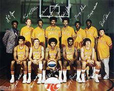 1972-73  SAN DIEGO CONQUISTADORS ABA BASKETBALL SIGNED TEAM 8X10 PHOTO PICTURE