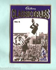 CADBURY AFL CARD #4  JOHN COLEMAN, ESSENDON BOMBERS