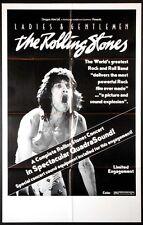 LADIES & GENTLEMEN THE ROLLING STONES 1974 ORIGINAL MOVIE POSTER