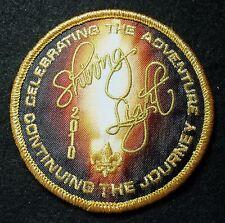 BSA mint new, 2010 National Jamboree Shining Light Arena Show Event Pocket Patch