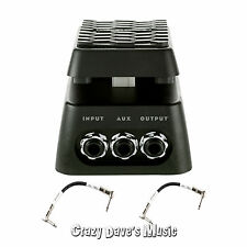 Dunlop Volume X Mini Pedal DVP4 w/2 Free Patch Cables