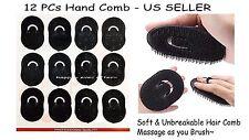 12 PCs! Pocket Comb/ Hand Brush/ Massage Comb/ Finger Comb *NEW*
