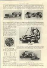 1915 Machinery For Production Of Projectiles Shells