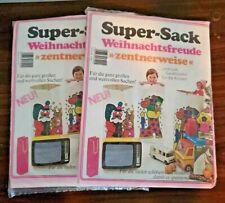 Vintage Super-Sack German Paper Christmas Eco Gift Present Bag Sack (2)