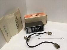 Herald Field Strength SWR Meter CB-21A Connecting Wire Adapter Vintage RD2