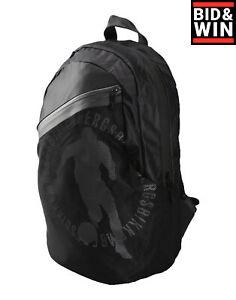 BIKKEMBERGS Backpack Printed Mesh Front Padded Back & Straps Zipped
