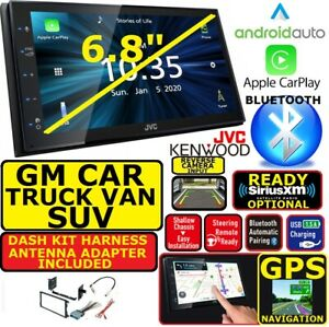 GM CAR-TRUCK-VAN-SUV JVC-KENWOOD NAV BLUETOOTH  CARPLAY ANDROID AUTO CAR STEREO