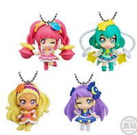 Last 6 left Star☆Twinkle Precure Full Completed Set 4pcs Mascot Keychain Straps