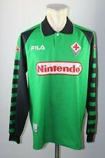 AC Florenz Trikot 1998-1999 Fiorentina Gr. M Fila Nintendo maglia GK Shirt