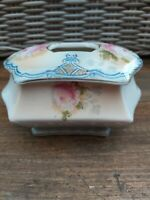 Vintage Floral / Rose's -  Ceramic Trinket Pot With Lid