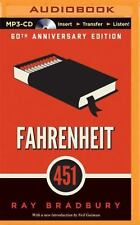 Fahrenheit 451 : A Novel by Ray Bradbury (2014, MP3 CD, Unabridged)