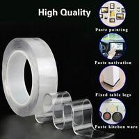 Nano Magic Tape Double Sided Traceless Washable Adhesive Invisible Gel Anti-Slip