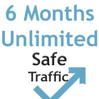 6 MONTHS & UNLIMITED website Traffic - website seo ranking google keywords