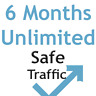 6 MONTHS & UNLIMITED website Traffic - website seo ranking google keywords