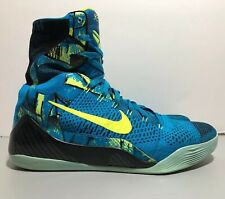 new product 4daf4 f4e93 Nike Kobe 9 IX Elite Perspective Neon Turquoise  Volt Men s Size 13 - 630847 -