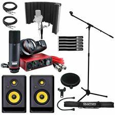 Focusrite SCARLETTSTUDIOKRKPK Studio Recording Package with 5in Powered Speakers