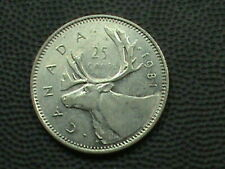 CANADA 25 Cents 1981 COMBINED