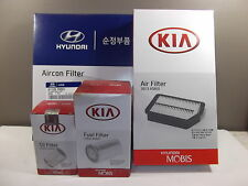 GENUINE HYUNDAI IX35 SUV 2.0L CRDI TD FILTER PACK(OIL+AIR+FUEL+CABIN FILTER)