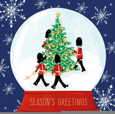 SSAFA Christmas Cards Soldiers in a Snowglobe - Pack of 10 with Envelopes