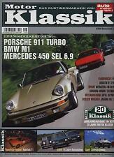 Motor Klassik 8/04 Porsche 911 Turbo Mercedes 6.9 BMW M1 Silvretta Classic