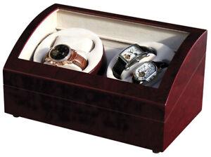 Uhrenbeweger für 4 Uhren Klavierlack BORDEAUX-Ausstellungsstück!Neuwertig-ab1 €!