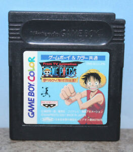 One Piece Yume no Ruffy Kaizokudan Gameboy Color Japanese Import Cartridge Only