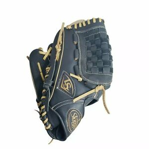 "New Baseball Softball Glove Louisville Slugger 12"" Black Dynasty LHT Left Throw"