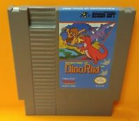 Adventures of Dino Riki  - Nintendo NES Game Rare Tested Works Great Authentic