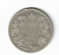 CANADA 1871H 25 CENTS QUARTER VICTORIA CANADIAN STERLING SILVER COIN FILLER