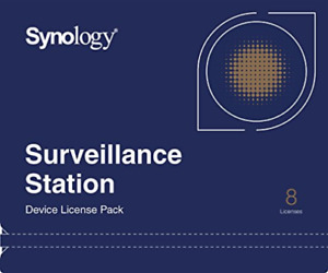 Synology Surveillance Device License Pack - Licence - 8 Cameras NEW