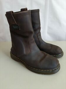 Dr. Martens #2296 Boots Size Womens 11/Men's 10 Extra wide Heavy Industry Brown
