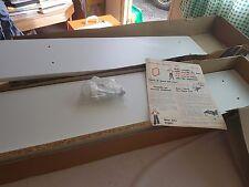 MFI Alpine Short White Bookcase Mark 2 ALP215 Boxed Flat Packed