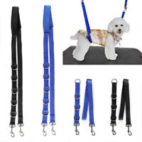3PCS DOG GROOMING HARNESS STRAP NOOSE RESTRAINT BELLY PAD 3 COLOURS UK HOT