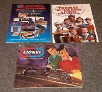 Lot of 3 Lionel catalog 1966/1995 Christmas/1994 thomas the train MODEL RAILROAD