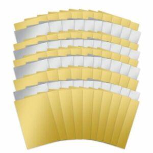 Hunkydory 10 x A4 Silver or Gold Mirri Mirror Card 270gsm NEW