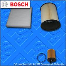 KIT di servizio per FORD C-MAX 1.6 TDCI BOSCH Aria Olio Cabina filtri (2007-2010)