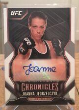 2015 Topps UFC Joanna Jedrzejczyk Rookie Auto Autograph