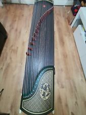 More details for professional-grade ebony guzheng/chinese zither harp  + accessories