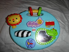 "Fisher-Price Heavy Duty Baby 2015 Mattel Baby Sensory Carry Along 8""x10"" Toy"
