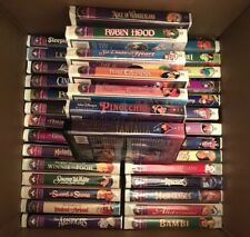 Walt Disney VHS Tapes Masterpiece Collection, Complete and more, total 35, Rare