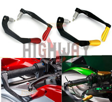 """CNC Motorcycle 7/8"""" Brake Clutch Lever Protector Protection Handguard Hand Guard"""