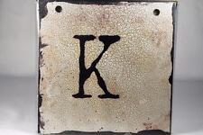 """Words To Live By Sherri Ohler 6"""" Alphabet Tiles Letter 'K' #101790 Demdaco NEW"""