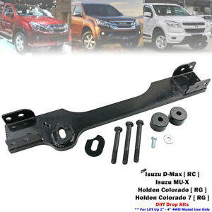 """Front Diff Drop Kits & Crossmember For Isuzu D-Max Pickup 4WD Up 2""""-4"""" 2012-2020"""