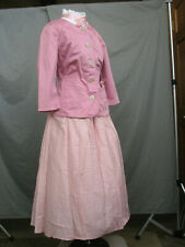 Victorian Dress Women's Edwardian Costume Civil War Reenactment 1800s Style