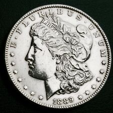 Excellent 1889 USA Morgan Liberty Silver Dollar In Superb Investment Condition