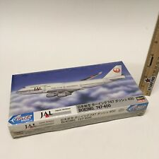Hasegawa 1:400 Mini Liner JAL Japan Airlines Boeing 747-400 Plane Model Kit SEE